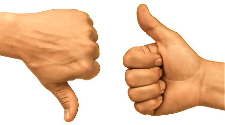 Thumbs-Up-Thumbs-Down
